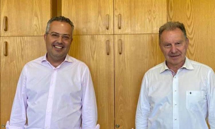 Συνάντηση με τον Γ. Κοτρωνιά είχε ο Η. Αποστολόπουλος την Πέμπτη 2 Ιουλίου