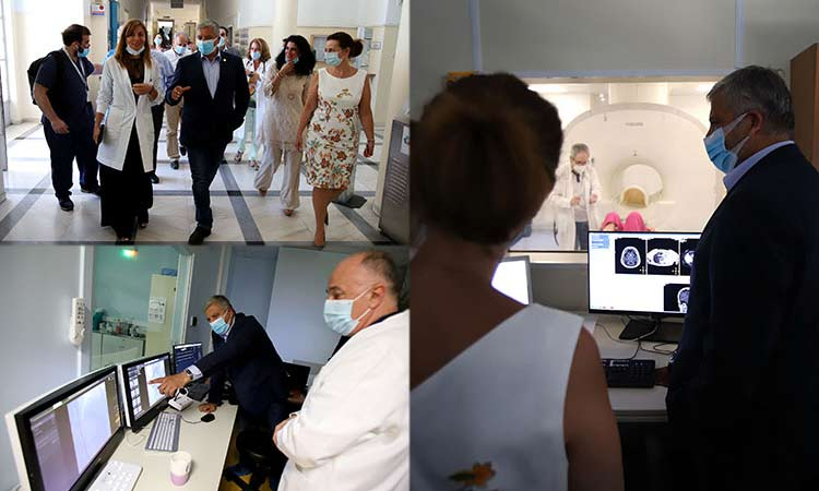 Επίσκεψη περιφερειάρχη Αττικής στο Σισμανόγλειο Νοσοκομείο