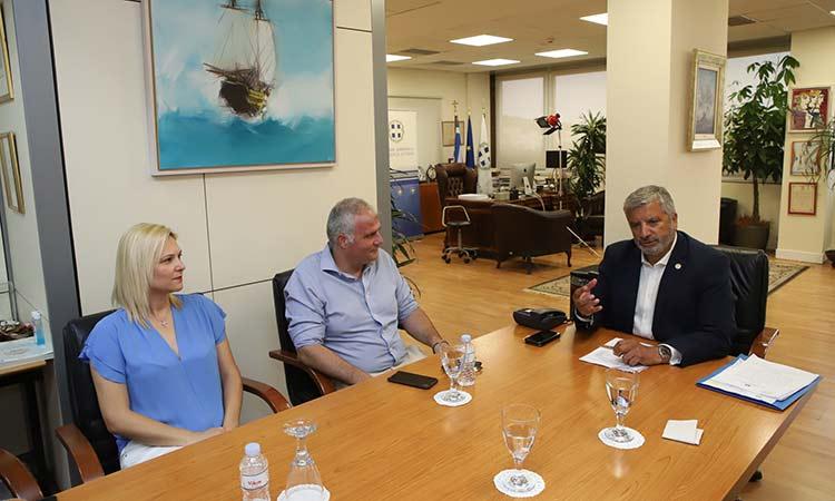 Ξεκινούν τα έργα προστασίας και αναβάθμισης των λιμανιών Αγ. Μαρίνα και Πέρδικα στην Αίγινα από την Περιφέρεια Αττικής