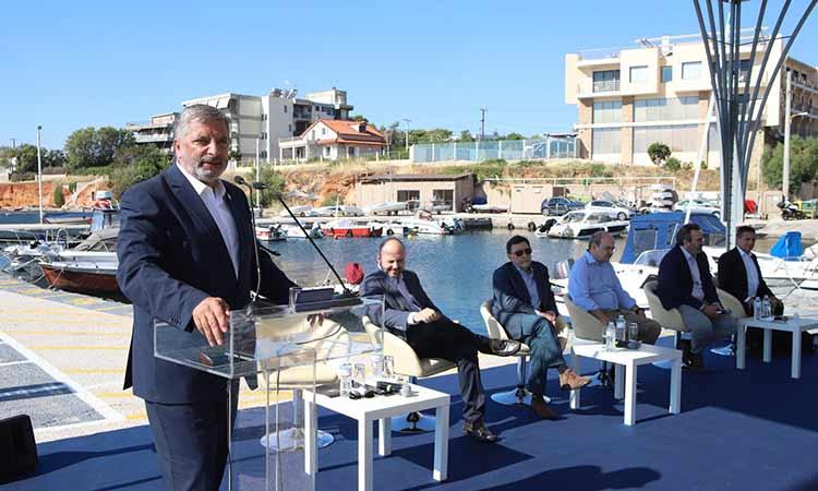Στην εκδήλωση έναρξης της διαβούλευσης του Ειδικού Πολεοδομικού Σχεδίου για το Μάτι ο Γ. Πατούλης