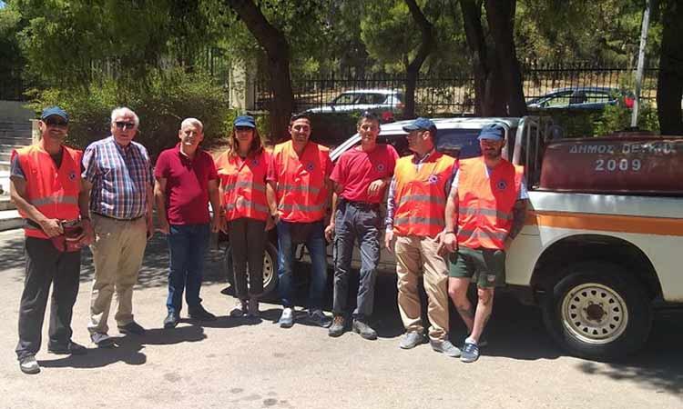 Σε ετοιμότητα η ομάδα πυρασφάλειας του Δήμου Λυκόβρυσης – Πεύκης