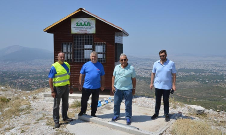 Επίσκεψη του βουλευτή Κ. Ζαχαριάδη στο Κέντρο Επιχειρήσεων του ΣΠΑΠ και σε πυροφυλάκια του Πεντελικού