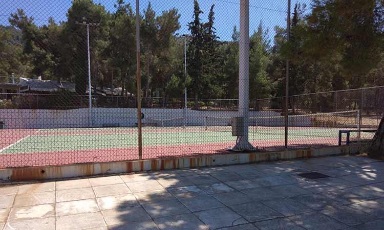 ΠΑΟΔΑΠ: Ανακατασκευάζονται τα γήπεδα αντισφαιρίσεως στο Δημοτικό Αθλητικό Κέντρο Αγίας Παρασκευής