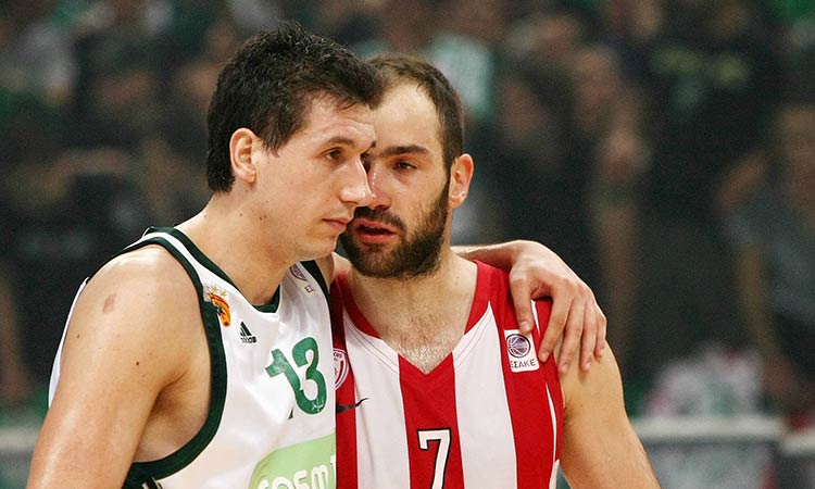 Δ. Διαμαντίδης και Β. Σπανούλης στην κορυφαία πεντάδα της 20ετίας στην ιστορία του Eurobasket