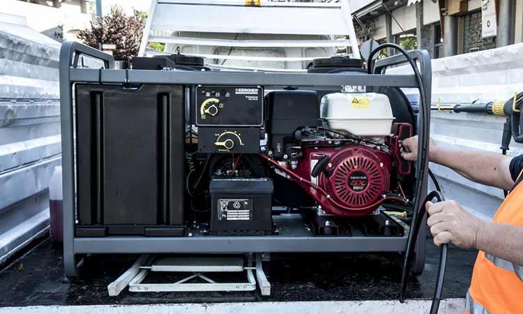 Νέα πλυστική μηχανή οδών και πεζοδρομίων στον Δήμο Αμαρουσίου