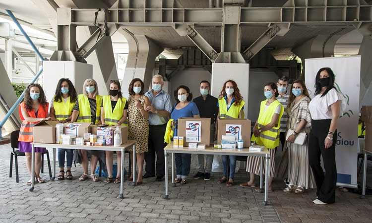 Με θέρμη αγκάλιασαν οι Μαρουσιώτες τη δράση συγκέντρωσης φαρμάκων και υγειονομικού υλικού για τη στήριξη των πληγέντων της Βηρυτού