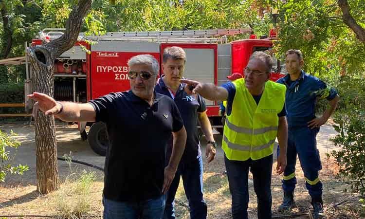 Εντατικοποίηση των μέτρων φύλαξης στα πάρκα και στα άλση ζήτησε ο Γ. Πατούλης μετά την απόπειρα εμπρησμού στο Πεδίον του Άρεως