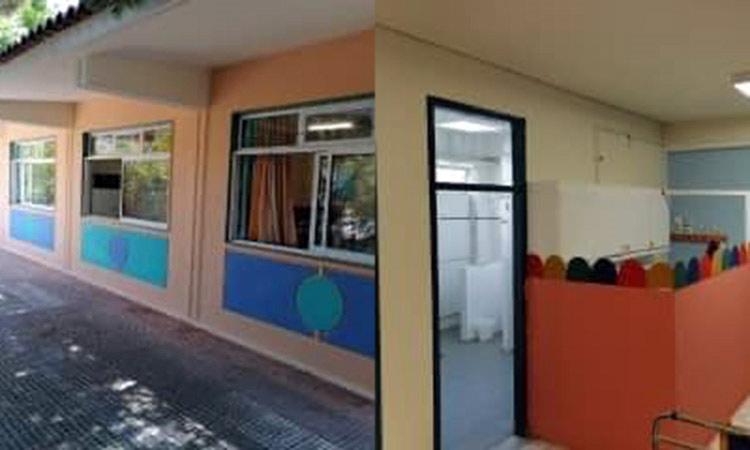 Συνεχίζονται οι εργασίες στα σχολικά συγκροτήματα του Δήμου Λυκόβρυσης – Πεύκης