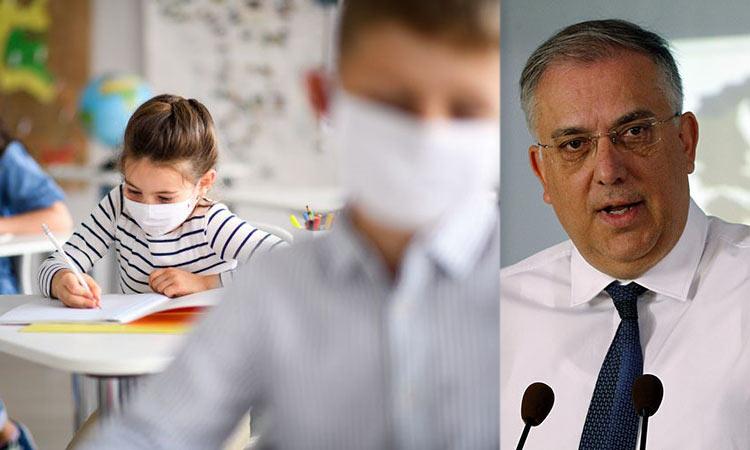 Επίσπευση των διαδικασιών για τις μάσκες και τις προσλήψεις προσωπικού καθαριότητας στα σχολεία ζήτησε από την ΚΕΔΕ ο υπ. Εσωτερικών