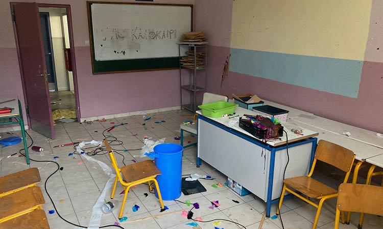 Άγνωστοι προκάλεσαν σοβαρούς βανδαλισμούς στο Δημοτικό Σχολείο Ν. Πεντέλης