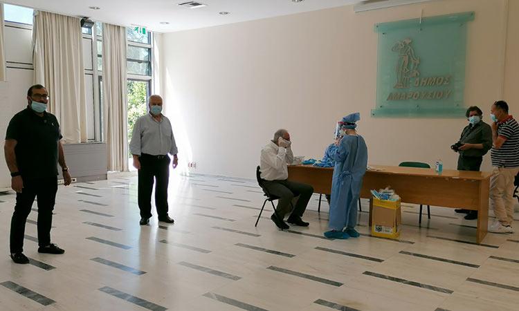 Τεστ Covid-19 στο προσωπικό των κοινωνικών υπηρεσιών του Δήμου Αμαρουσίου στις 11/9