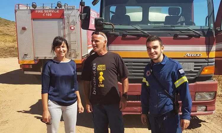 «Ευχαριστώ» της δημάρχου Πεντέλης προς όλους όσοι συνέβαλαν στην αντιμετώπιση των πυρκαγιών