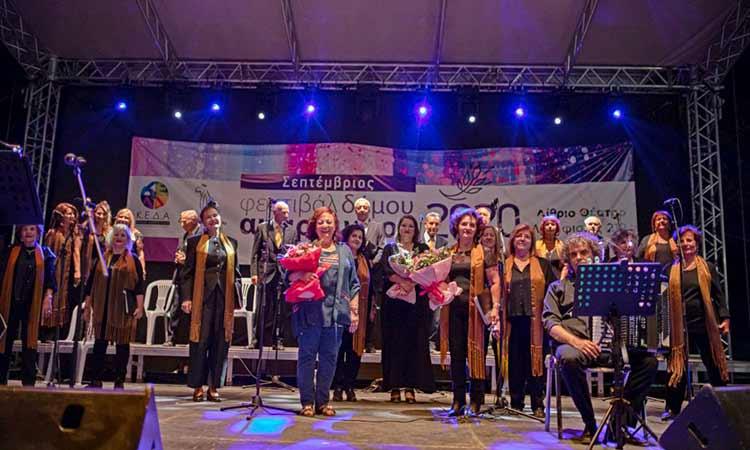 Σε ατμόσφαιρα ενθουσιασμού και συγκίνησης η συναυλία της  Μικτής Χορωδίας του Δήμου Αμαρουσίου «Τερψιχόρη Παπαστεφάνου»