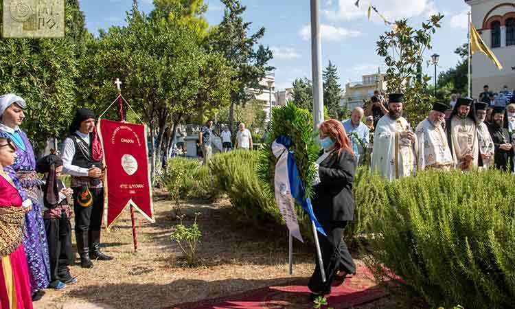 Με συγκίνηση τίμησε ο Δήμος Νέας Ιωνίας τη μνήμη των θυμάτων της Μικρασιατικής Καταστροφής