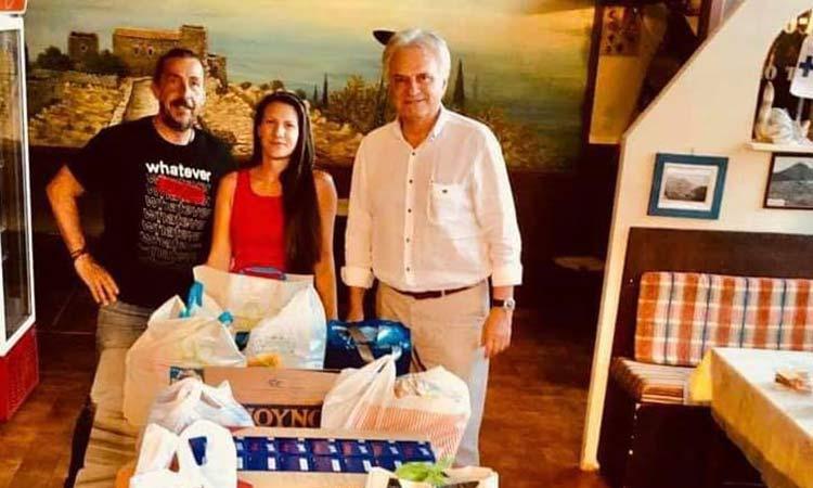 Ανθρωπιστική βοήθεια από τη Νίκη των Πολιτών Αγ. Παρασκευής για τους πληγέντες της Βηρυτού
