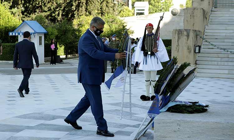 Η Περιφέρεια Αττικής τιμά την Ημέρα Μνήμης των Εθνικών μας Ευεργετών