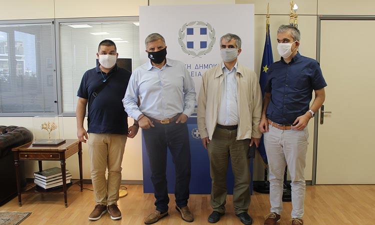 Συνάντηση Γ. Πατούλη με αντιπροσωπεία της Εθνικής Ομοσπονδίας και του Πανελλήνιου Συνδέσμου Τυφλών