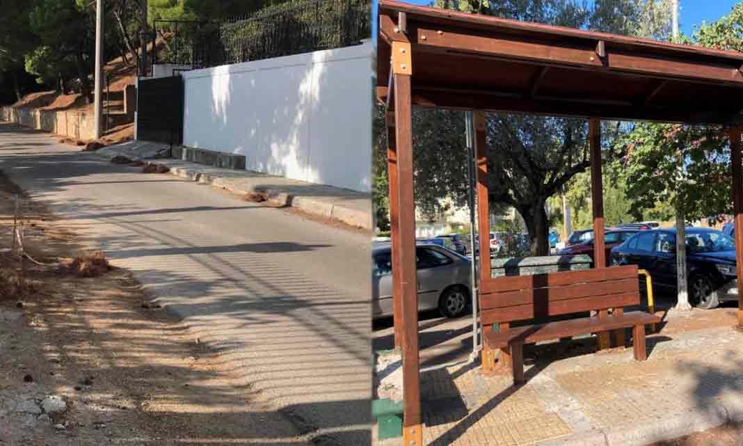Ξεκίνησε η υπηρεσία οδοκαθαρισμού στον Δήμο Πεντέλης