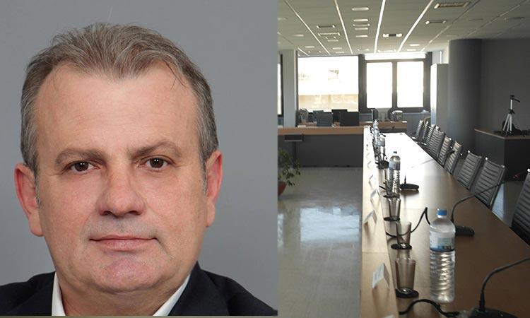 Γ. Πέτρου: Δεν θα ρισκάρουμε την υγεία κανενός με διά ζώσης συνεδριάσεις του Δ.Σ. Ηρακλείου