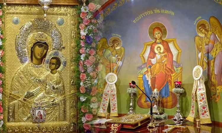 Εορτή Θαυματουργού Εικόνος Παναγίας «Βηματάρισσας» στον Δήμο Νέας Ιωνίας