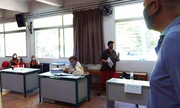 Επίσκεψη Στρ. Σαραούδα σε σχολεία της Μεταμόρφωσης λίγο πριν το πρώτο κουδούνι