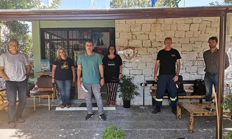 Ευρεία σύσκεψη για τη λήψη μέτρων ενόψει κακοκαιρίας στον Δήμο Βριλησσίων