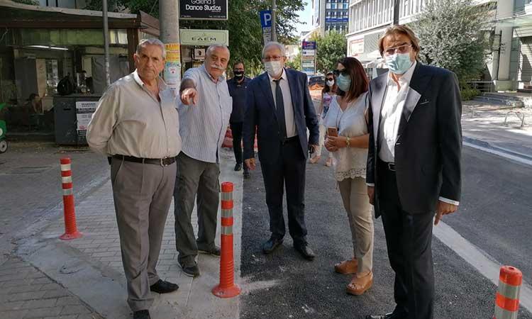 Θ. Αμπατζόγλου: Παραδίδεται η Δ. Ράλλη – Συνεχίζουμε δυναμικά τις ανακατασκευές κομβικών οδών στο Μαρούσι