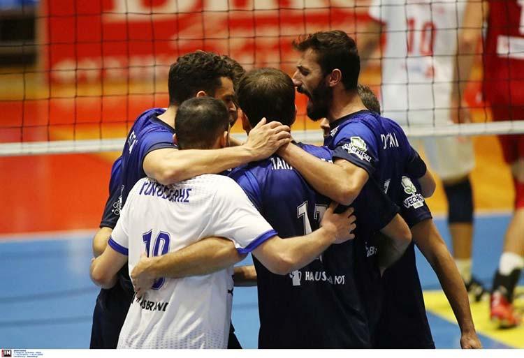 Ήττα στην πρεμιέρα της Volley League για την Κηφισιά από τον Ολυμπιακό με 3-1 σετ
