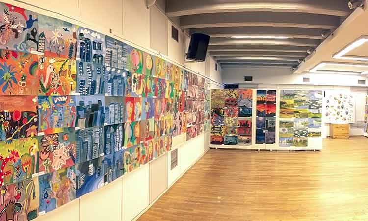 Με επιτυχία ολοκληρώθηκε η ετήσια έκθεση του Εργαστηρίου Ζωγραφικής παιδιών & εφήβων του ΝΠΔΔ «Δ. Βικέλας»