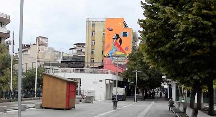 Έρημη πόλη η Κοζάνη – Rapid tests στους πολίτες