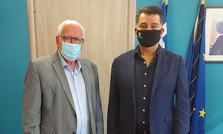 Συνάντηση Π. Ιωάννου με Γ. Δημόπουλο για θέματα επιχειρηματικότητας στον Δήμο Λυκόβρυσης-Πεύκης