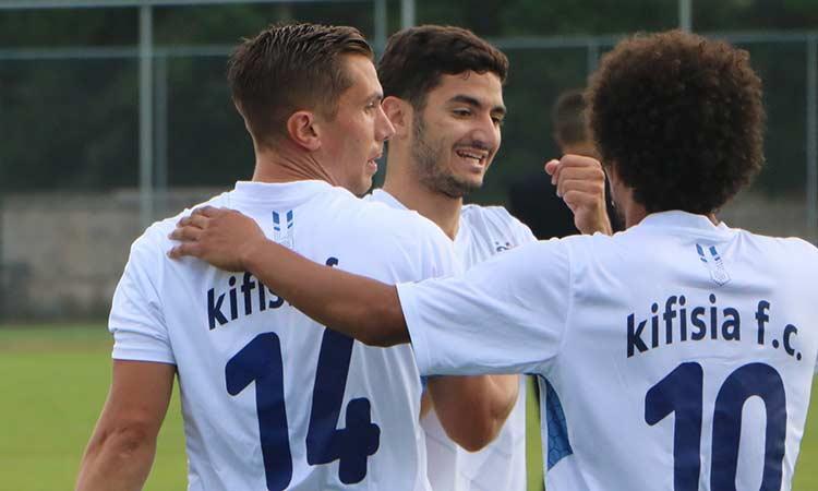 Γ' Εθνική ποδοσφαίρου: Τρία στα τρία για την Κηφισιά και μόνη στην κορυφή