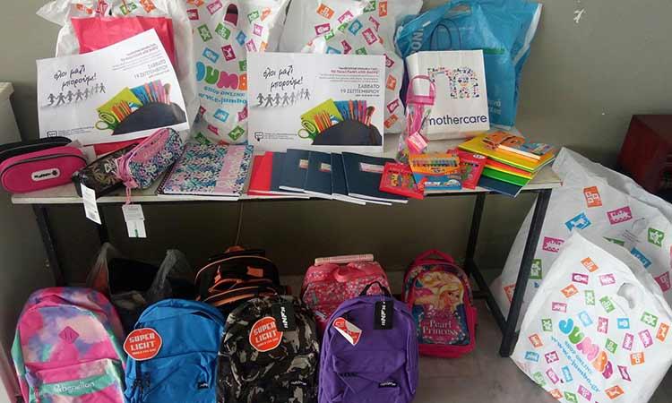 «Ευχαριστώ» του Δήμου Ν. Ιωνίας στα βιβλιοπωλεία που παρέδωσαν σχολικά είδη για το Κοινωνικό Παντοπωλείο