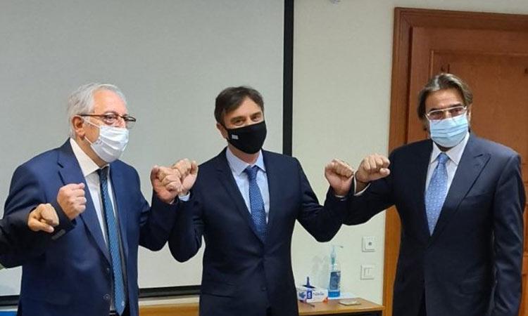 Ορκίστηκαν ως δημοτικοί σύμβουλοι Αμαρουρίου οι Δ. Γαρδέλης και Τ. Σπυρόπουλος