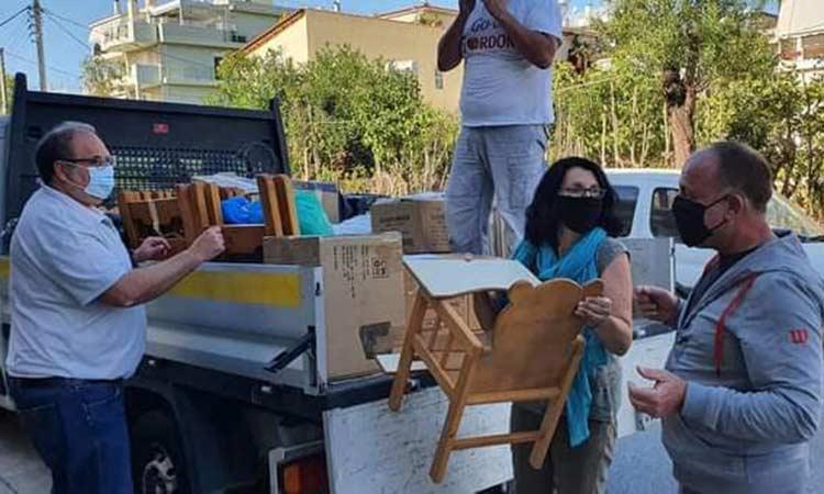 Έτοιμη η αποστολή του Δήμου Χαλανδρίου για τη δράση αλληλεγγύης στην Καρδίτσα