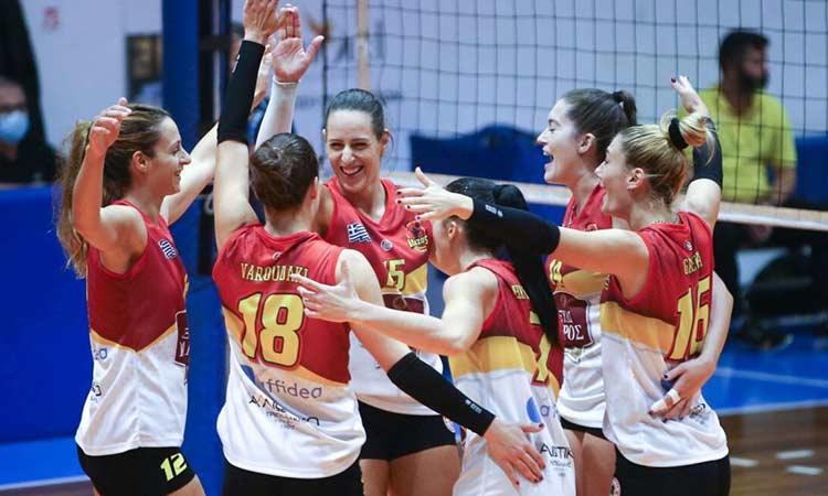 Δεύτερη νίκη για τις Αμαζόνες της Ν. Ερυθραίας στη Volley League Γυναικών