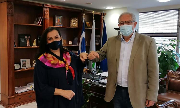 Θ. Αμπατζόγλου: Με την Κ. Λιούτα στο τιμόνι του Σικιαριδείου θα αναβαθμιστεί ο ρόλος του Ιδρύματος