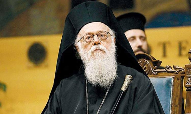 «Περαστικά» εύχεται ο Γ. Πατούλης στον αρχιεπίσκοπο Αλβανίας κ.κ. Αναστάσιο – Νοσεί με κορωνοϊό