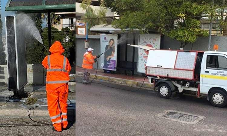 Στην… πρώτη γραμμή η υπηρεσία Καθαριότητας στον Δήμο Παπάγου-Χολαργού