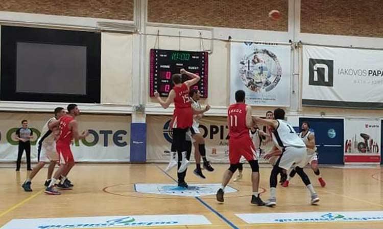 Νίκη μόνο για την ΑΕΝ Κηφισιάς στην 4η αγωνιστική της Β' Εθνικής μπάσκετ