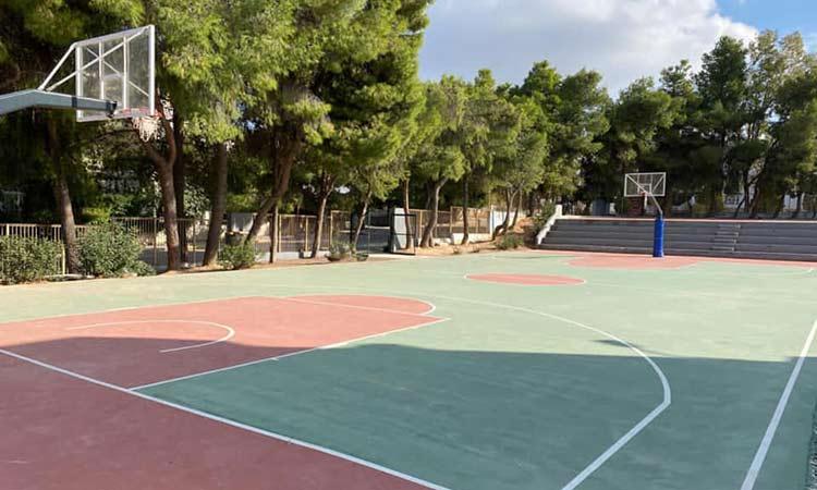 Ολοκληρώθηκε η ανακατασκευή ανοικτών αθλητικών χώρων στο Γυμνάσιο Λυκόβρυσης