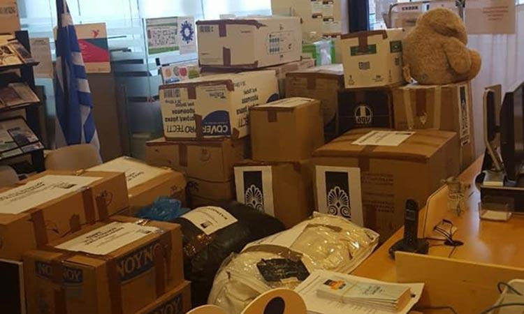 Αναχωρεί για Πειραιά στις 7/11 η ανθρωπιστική βοήθεια του ΟΚΠΑΔΒ για τους πληγέντες της Σάμου