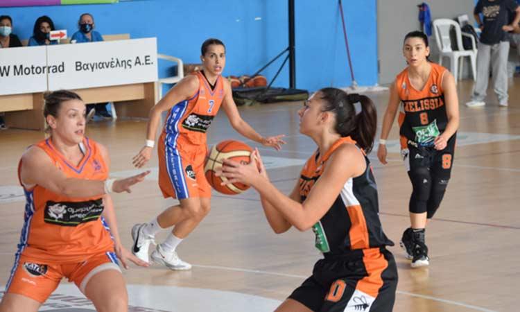 Ήττες για Αγ. Παρασκευή και Μελίσσια στην 3η αγωνιστική της Α2 μπάσκετ Γυναικών