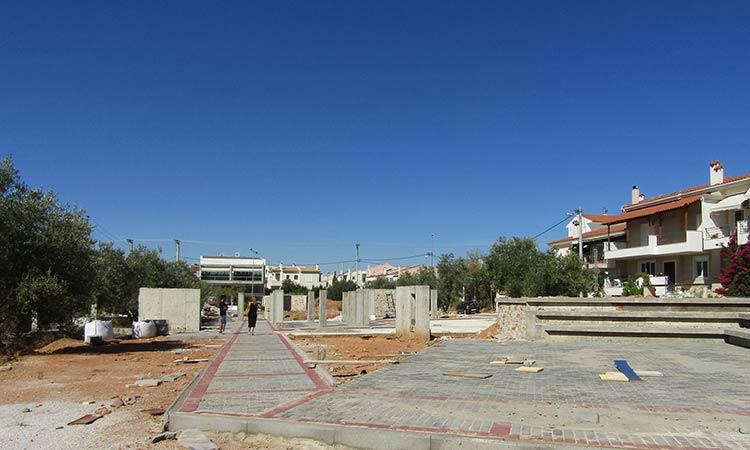 Δήμος Χαλανδρίου: H περιοχή του Πατήματος Ι αλλάζει όψη με σειρά έργων υποδομών