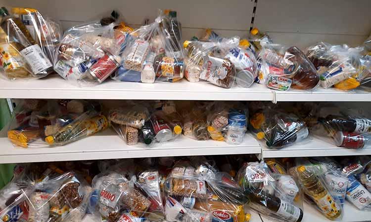 Δωρεά τροφίμων στο Κοινωνικό Παντοπωλείο Δήμου Χαλανδρίου από το Ίδρυμα Σταύρος Νιάρχος