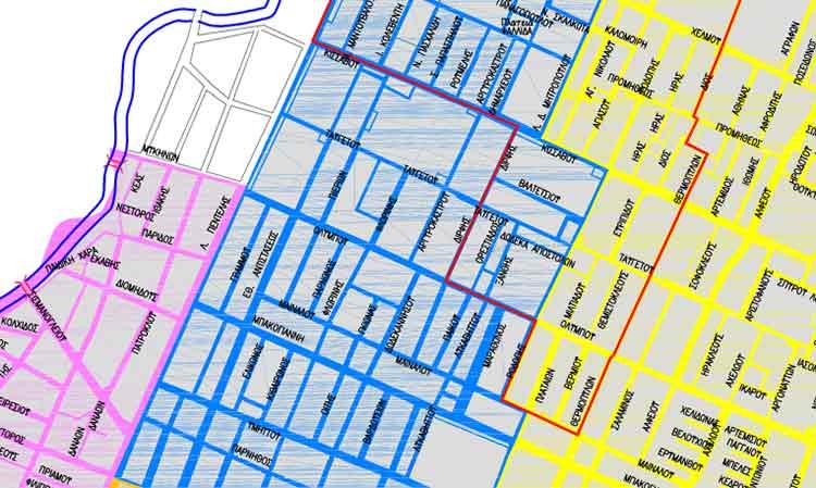 Χάρτες χωροταξικών ορίων σχολικών μονάδων Δήμου Βριλησσίων για το σχολικό έτος 2020-2021