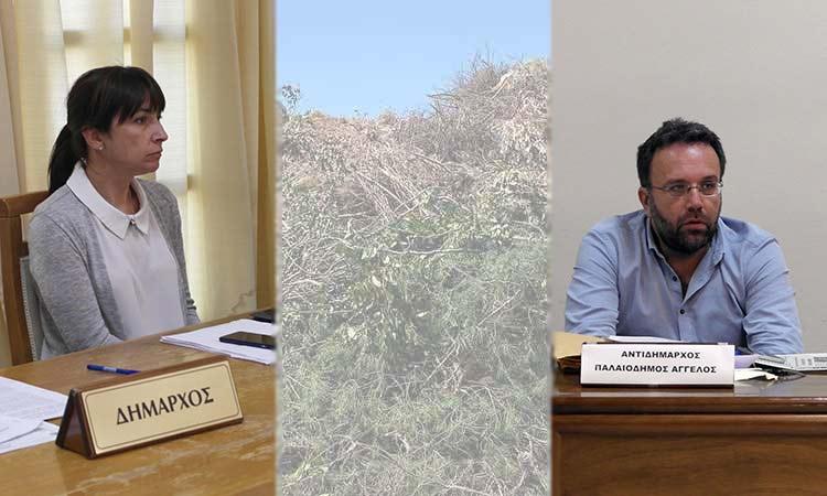 Η διοίκηση του Δήμου Πεντέλης «αδειάζει» τον Άγγ. Παλαιοδήμο για τον ΣΜΑ στο Κοιμητήριο Μελισσίων