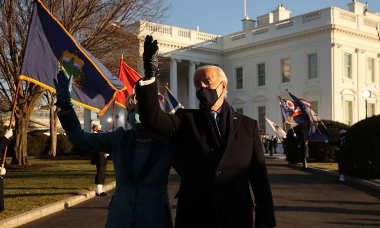Νέα εποχή για τις ΗΠΑ: Στον Λευκό Οίκο ο Τζο Μπάιντεν