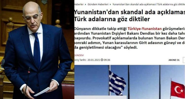 Ιαχές πολέμου από τουρκικά ΜΜΕ για τις δηλώσεις Δένδια για τα 12ν.μ. νοτίως της Κρήτης