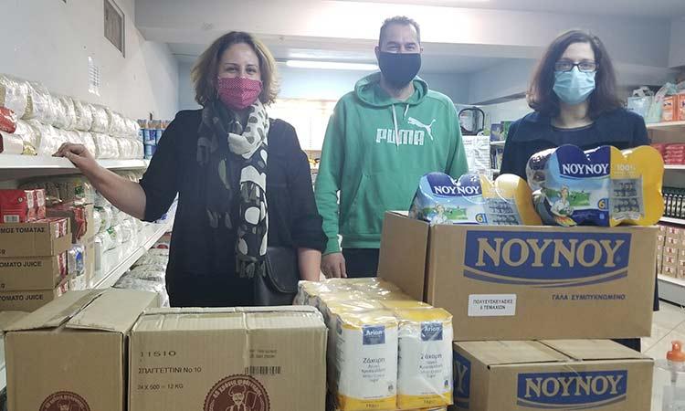 Συνεχίζεται απρόσκοπτα η στήριξη στο Κοινωνικό Παντοπωλείο Δήμου Χαλανδρίου